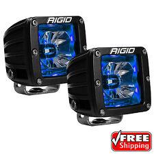 Rigid Radiance 20201 Pod LED Lights PAIR - BLUE Illuminated Background Light