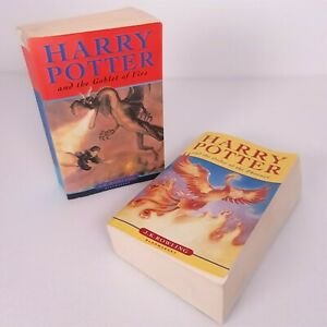 Harry Potter And The Order Of The Phoenix and The Goblet Of Fire - 2 Book Bundle