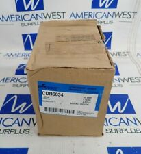 COOPER CDR6034 POWERMATE SERIES RECEPTACLE 60A 3 WIRE 4 POLE 600VAC 250VDC *NEW*