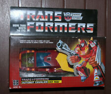 G1 TRANSFORMERS Autobot HOT ROD Official Hasbro WALMART EXCLUSIVE Reissue FIGURE