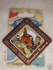 DISNEYLAND RESORT WOODY TOY STORY PIN LIMITED EDITION 1 - 1000 RETIRED 2008