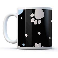 Funky Paw Prints Cat - Drinks Mug Cup Kitchen Birthday Office Fun Gift #15516