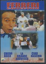 MARCO FERRERI Collection - Cofanetto 3 Film (la grande abbuffata) - DVD NUOVO