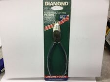 """Diamond 6"""" Diagonal Pliers S56PH Side Cutter USA  NEW OLD STOCK"""