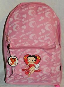 """NEW WITH TAG 2007 BETTY BOOP  FULL SIZE BACKPACK 11""""X15"""""""