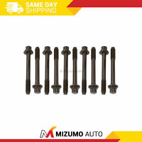 Head Bolts Fit 94-06 Mitsubishi Plymouth Non&Turbo 2.0 2.4 4G63 4G64