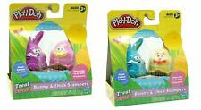Hasbro Play Doh Bunny and Chick Stampers (Set of 4)