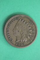 1864 Indian Head Cent Penny CN Exact Coin Shown Flat Rate Shipping OCE 45
