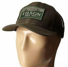 Filson Otter Green Logger Mesh Trucker Cap Men's One Size 5044