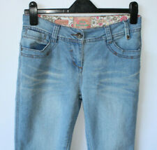 "Joe Browns Straight Jeans Light Blue Wash Distressed Mid Rise 31"" Leg UK 10"