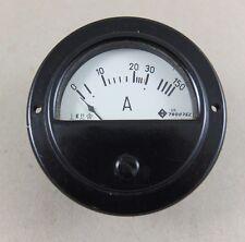 altes Messgerät Amperemeter Einbauinstrument 8 cm Durchmesser