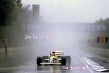 THIERRY BOUTSEN Williams FW13 WINNER AUSTRALIAN GRAND PRIX 1989 fotografia 3