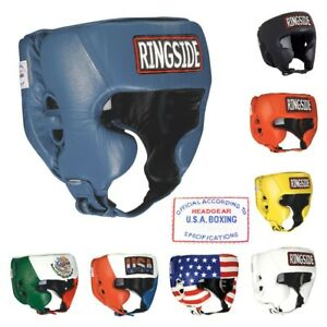 Ringside Amateur SGCO USA Boxing Competition Sparring Headgear Head Gear