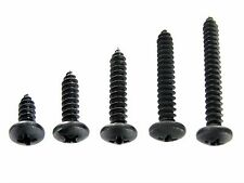 "Ford Truck Black #10 Pan Head Trim Screws- 1/2"" to 1-1/2"" Long- 125 screws- #363"