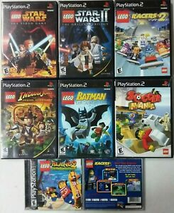 LEGO games Sony PlayStation 2 PS2 TESTED