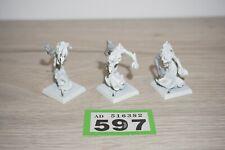 Warhammer Chaos Tzeentch Flamers x 3 LOT 597