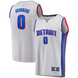 Fanatics NBA Detroit Pistons Andre Drummond Statement Edition Jersey Size S