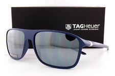 Brand New TAG Heuer Sunglasses 27 Degree 6041 114 Navy/Silver Mirror for Men