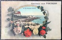At The Salmon Fishery Portrush Co Antrim Postcard N Ireland Fergus O'Connor