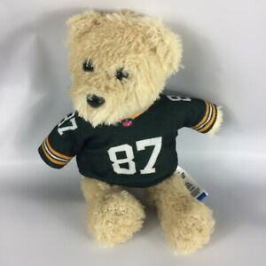Jordy Nelson #87 GREEN BAY PACKERS Plush Bear Mini NFLPA Forever Collectables