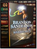 Warbreaker ✎SIGNED✎ by BRANDON SANDERSON Brand New Collectible Hardback