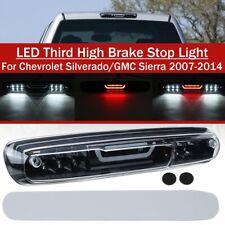 Rear Third 3rd High Brake Stop Light Lamp LED For Silverado GMC Sierra 2007-2014
