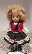 Nancy Ann Story Book Muffie Doll Straight Leg Walker Shirley Temple Heidi LAL