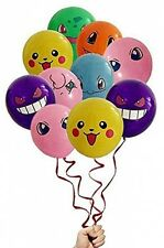 21 Count Pokemon Latex Balloons 12 Inch Birthday Party Fan Cute Event Decor