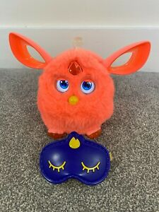 Hasbro Furby Connect Coral Pink Interactive Electronic Bluetooth Pet Toy + Mask