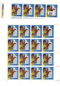 // SOMALIA - MNH - ART - PEOPLE - 1998 - 10 SHEETS - 160 STAMPS - WHOLESALE
