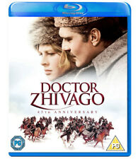 DOCTOR ZHIVAGO [Blu-ray] (1965) 2-Disc David Lean Omar Sharif Classic Movie Dr.