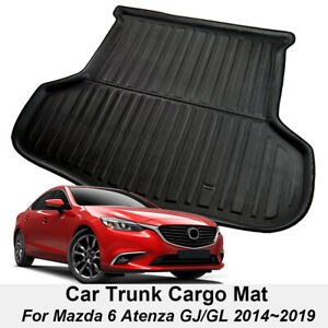 Cargo Liner Trunk Mat Floor Cover Boot Tray For Mazda 6 Atenza GJ&GL 2014-2021