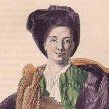 Portrait XIXe Bernard Le Bouyer de Fontenelle Rouen Normandie Mathématiques 1836
