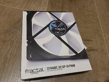 Fractal Design - Dynamic X2 GP-14 PWM 140MM Computer Fan - Black/White (7667)