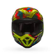 Casque mx-9 mips double trouble jaune taille l Bell 7080820