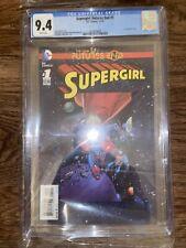 Supergirl: The New 52 Futures End #1 DC Comics 11/14 CGC 9.4