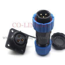 SD20 3pin Waterproof Connector, 380V/AC High Voltage Industrial Heavy Connectors