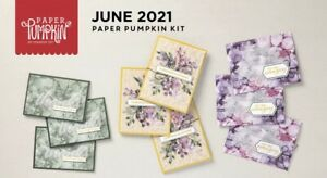 Stampin' Up! Expressions Of Color June 2021 Paper Pumpkin Full Kit