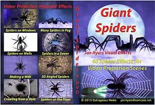 GIANT SPIDERS, Rats, Bugs, Bats, Snakes DVD set by JON HYERS