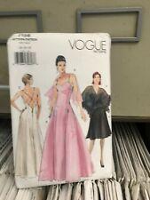 Vogue Sewing Pattern 7158 size 14 16 18  Dress summer