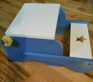 Toddler Step Stool - Converts to Chair