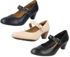 Buckle Mary Jane Heels for Women