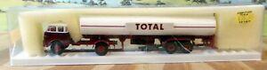 BREKINA HO SCALE - 7809 MAN 'TOTAL' FUEL TANKER TRUCK (QTY 1)- USED