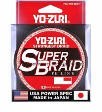 MULTIFIBRA SUPER BRAID 0,36 MM YO-ZURI 50 LB DARK GREEN 275 MT TRECCIATO BRAID