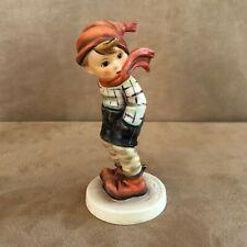 New ListingHummel Boy March winds Figurine Goebel 43 Germany 1985 winter scarf