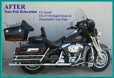 Relocation kit for Tour-Pak Harley Baggers 97-08 Relocator
