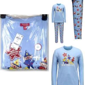 Family PJs Mens Macy's Thanksgiving Day Parade Pajama Set Size XL New