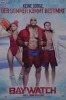 BAYWATCH - A3 Poster (ca. 42 x 28 cm) - Film Dwayne Johnson Clippings NEU
