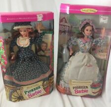 Barbie Doll American Stories Collection Special Edition Pioneer Barbie SET OF 2!