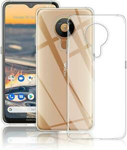 For Nokia G10 / G20 Case, Slim Clear Silicone Shockproof Armour Gel Phone Cover